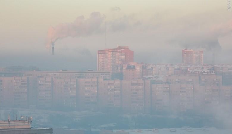 Воздух в Красноярске
