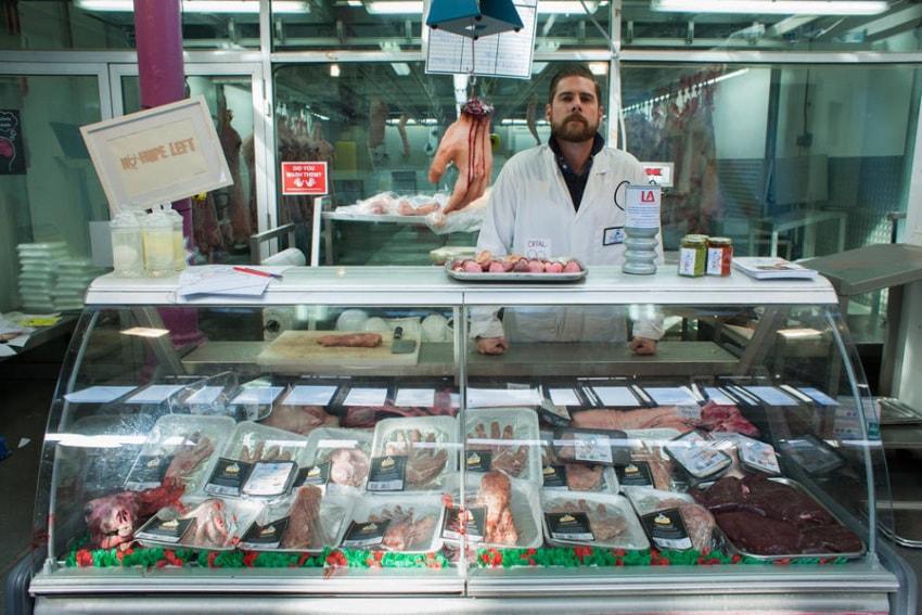 Магазин в Лондоне с продукцией в виде человеческих органов