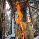 24 часа в лесу в - 37! Дом на дереве или изба на лыжах? Что теплее и лучше в мороз? Жизнь в лесу